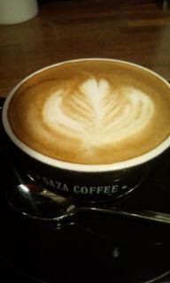 サザコーヒーでcappuccino<br />  ♪
